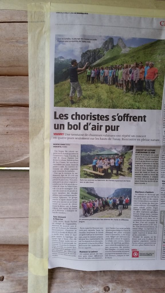 Article du nouvelliste