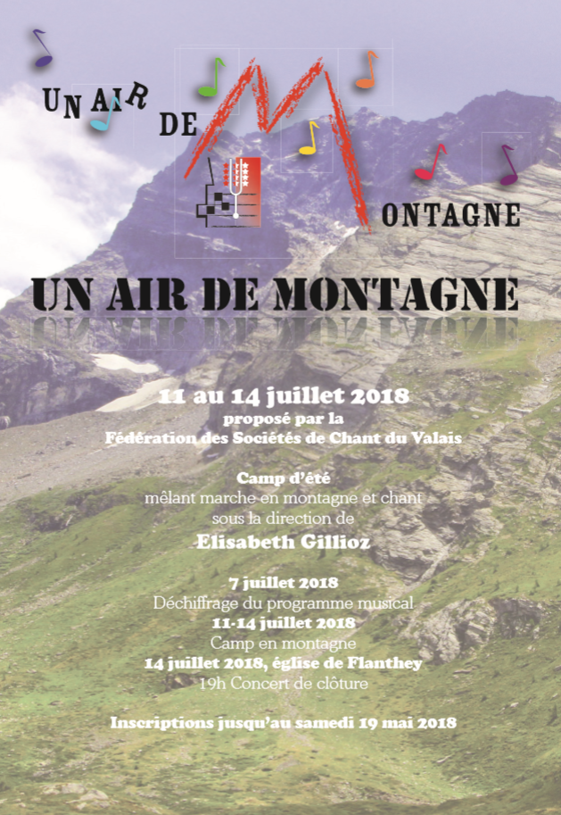 Un air de montagne 2018 – Inscription